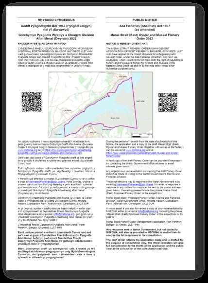 Rhybudd Cyhoeddus / Public Notice